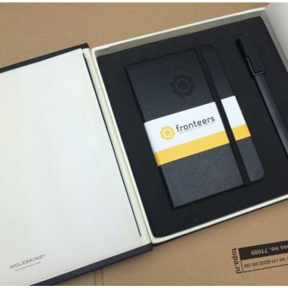 Moleskine Writing Set bedrukt met eigen logo