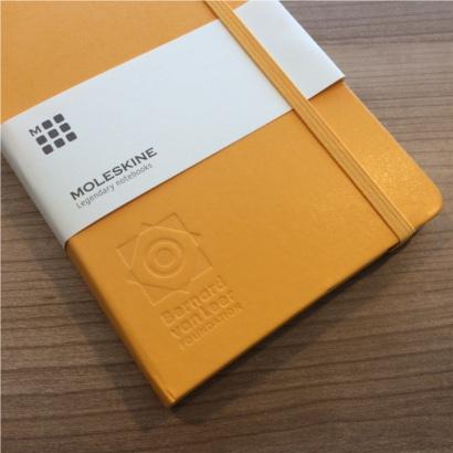 Moleskine notitieboek bedrukt met eigen logo - The Notepad Factory