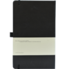 Castelli notitieboek bedrukt met logo zwart zakelijk