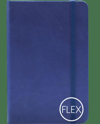Castelli notitieboek flexibele kaft blauw