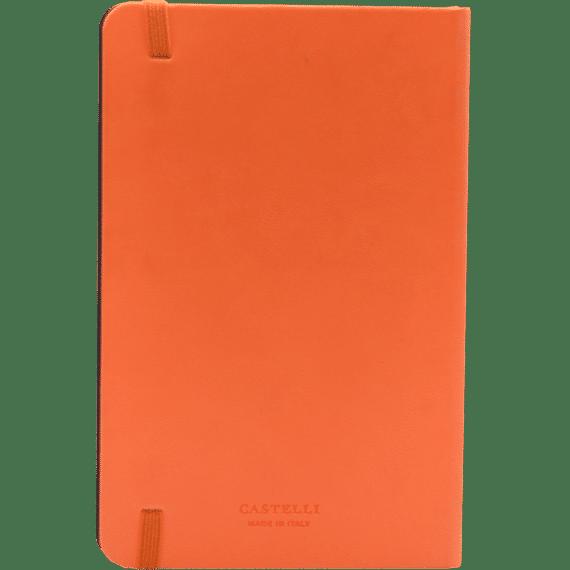 Castelli flexibel oranje 452 achterzijde