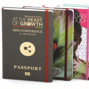 notitieboeken met eigen logo 100% custom