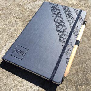 Castelli notitieboek met eigen logo bedrukt
