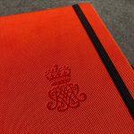 Notitieboek met logo oranje Mix&Match